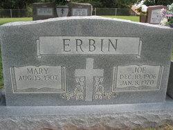 Mary <i>Manek</i> Erbin