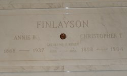 Christopher T Finlayson