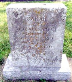 Sarah Elizabeth <i>Simmons</i> Alexander