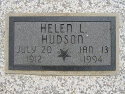 Helen L. <i>Moran</i> Hudson