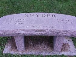 Crystal D <i>Carter</i> Snyder