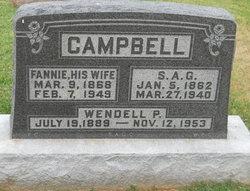 Fannie <i>Hatcher</i> Campbell