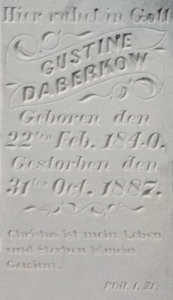 Gustine <i>Wellnitz</i> Daberkow