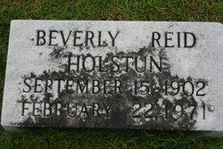 Beverly Reid Holstun