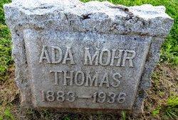 Ada Eva <i>Mohr</i> Thomas