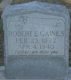 Robert Edward Gaines
