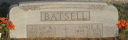 Annie E <i>O'Keefe</i> Batsell