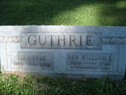 Ella Mary <i>Lyle</i> Guthrie