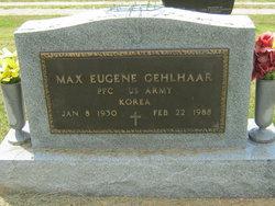 Max Eugene Gehlhaar