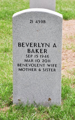 Beverlyn A Baker