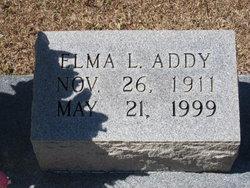 Elma L Addy