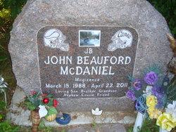 John Beauford JB Migizence 'Little Eagle' McDaniel