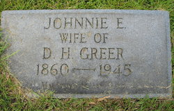 Johnnie Emma Greer