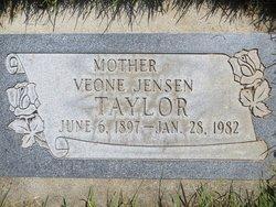 Veone Maxine <i>Jensen</i> Taylor
