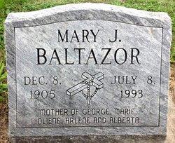 Mary Josephine <i>Collins</i> Baltazor