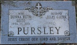 Donna Ruth <i>Leito</i> Pursley