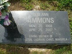 Teri Ann <i>Evans</i> Ammons