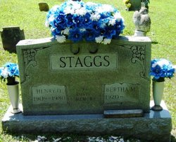 Bertha M Staggs