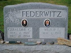 Geraldine Caroline <i>Welk</i> Federwitz