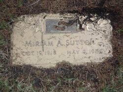 Miriam Agnes Mimi <i>Papurt</i> Sutton