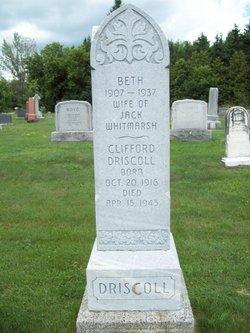 Elizabeth Beth <i>Driscoll</i> Whitmarsh