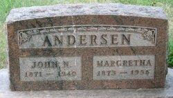 Inger Margaretha Margaretha <i>Marvick</i> Andersen