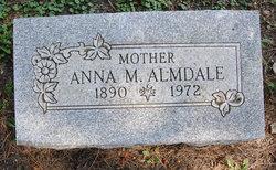 Anna M <i>Olsen</i> Almdale