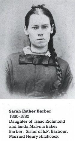 Sarah Esther Barber