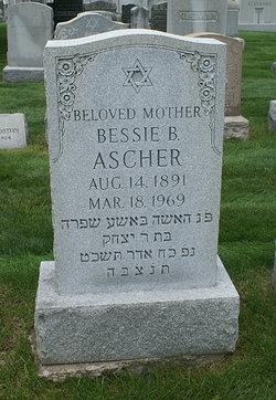 Bessie Bertha <i>Kanzor</i> Ascher
