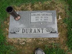 Adeline Martens <i>Shumate</i> Durant