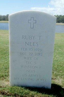 Ruby T Nees