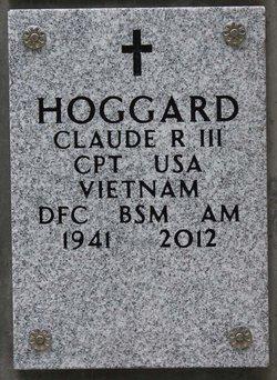 Claude R Hoggard, III