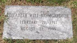 Elizabeth <i>Wilt</i> Baumgardner