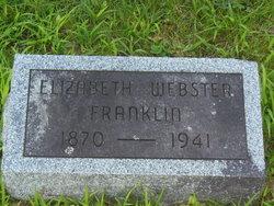 Elizabeth <i>Webster</i> Franklin