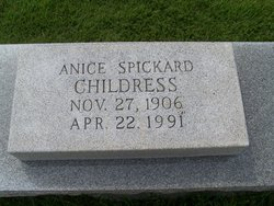 Anice <i>Spickard</i> Childress