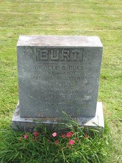Martha Maude Mattie <i>Symons</i> Burt
