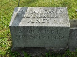 William David Blakeslee Ainey