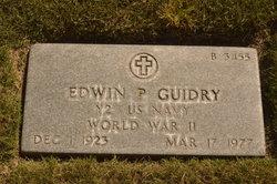 Edwin P Guidry