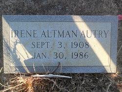 Irene Altman Autry