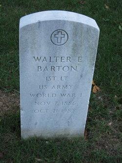 Walter Elbert Barton