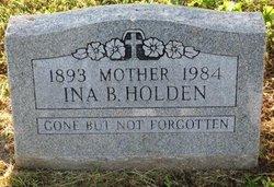 Ina Belle Holden