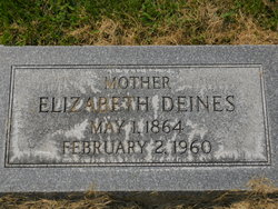 Elizabeth <i>Yost</i> Deines