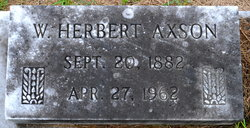 W. Herbert Axson