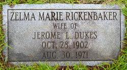 Zelma Marie <i>Rickenbaker</i> Dukes