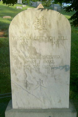 Virginia Myers <i>Leftwich</i> Bell