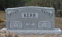 Lora Ann <i>Fults</i> Kerr
