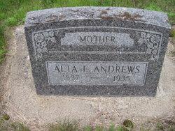 Alta F <i>Anderson</i> Andrews