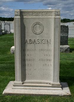 Sadie <i>Wolfson</i> Adaskin