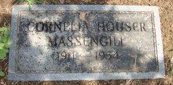 Cornelia Jane Nellie <i>Houser</i> Massengill