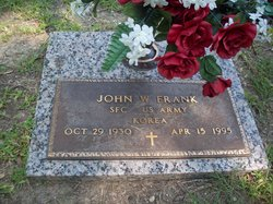 Sgt John W Frank